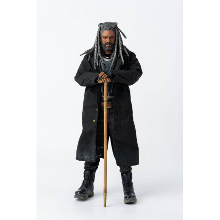 THE WALKING DEAD KING EZEKIEL ACTION FIGURE