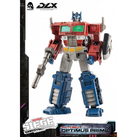 TRANSFORMERS WAR FOR CYBERTRON OPTIMUS PRIME ACTION FIGURE