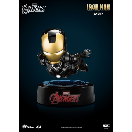 AVENGERS IRON MAN FLOATING FIGURE STATUE