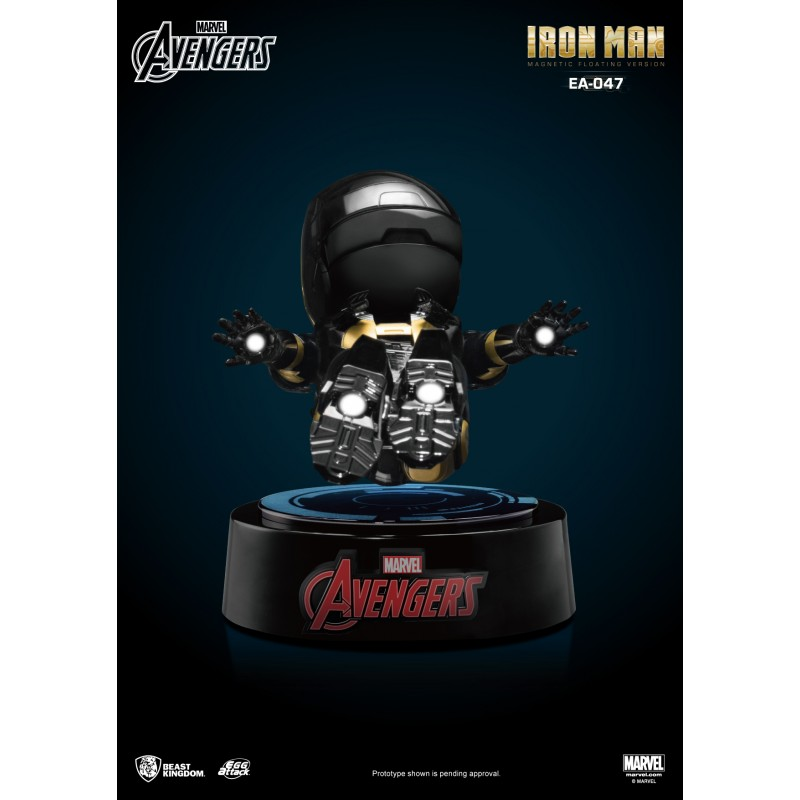 BEAST KINGDOM AVENGERS IRON MAN FLOATING FIGURE STATUE