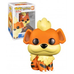 FUNKO POP! POKEMON GROWLITHE BOBBLE HEAD FIGURE FUNKO