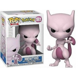 FUNKO POP! POKEMON MEWTWO BOBBLE HEAD FIGURE FUNKO