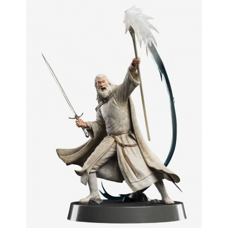 THE LORD OF THE RINGS GANDALF THE GREY STATUE FIGURE