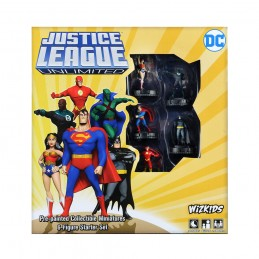 DC JUSTICE LEAGUE UNLIMITED HEROCLIX STARTER SET WIZKIDS