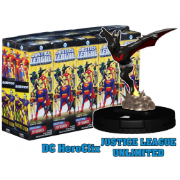 WIZKIDS DC JUSTICE LEAGUE UNLIMITED HEROCLIX 10X BOOSTER BRICK