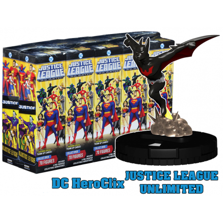 DC JUSTICE LEAGUE UNLIMITED HEROCLIX 10X BOOSTER BRICK