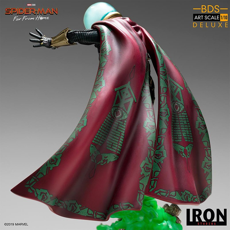 IRON STUDIOS SPIDER-MAN FAR FROM HOME MYSTERIO 1/10 RESIN STATUE FIGURE
