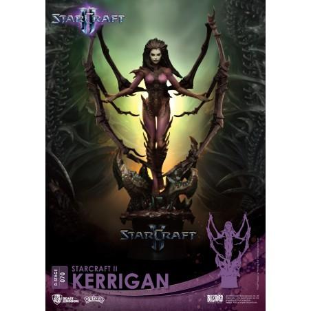 D-STAGE STARCRAFT 2 KERRIGAN STATUE FIGURE DIORAMA
