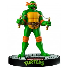 IKON COLLECTABLES TEENAGE MUTANT NINJA TURTLES MICHELANGELO STATUE FIGURE
