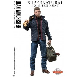 QUANTUM MECHANIX SUPERNATURAL DEAN WINCHESTER 1/6 ACTION FIGURE MASTER SERIES