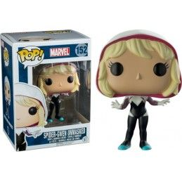 FUNKO FUNKO POP! SPIDER-GWEN UNMASKED BOBBLE HEAD KNOCKER FIGURE