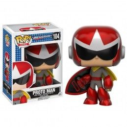 FUNKO POP! MEGAMAN PROTO MAN BOBBLE HEAD KNOCKER FIGURE FUNKO