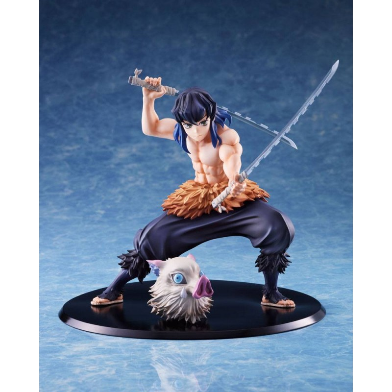 DEMON SLAYER INOSUKE HASHIBIRA 1/8 STATUE FIGURE ANIPLEX