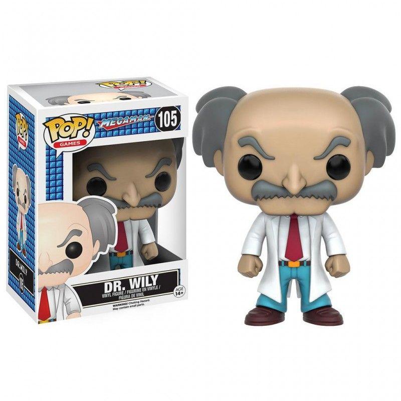 FUNKO POP! MEGAMAN DR. WILY BOBBLE HEAD KNOCKER FIGURE