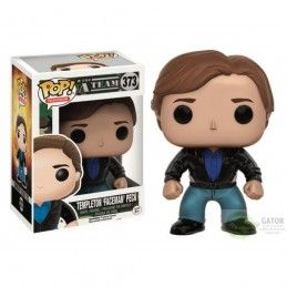 "FUNKO FUNKO POP! THE A-TEAM - TEMPLETON ""FACEMAN"" PECK SBERLA BOBBLE HEAD KNOCKER FIGURE"