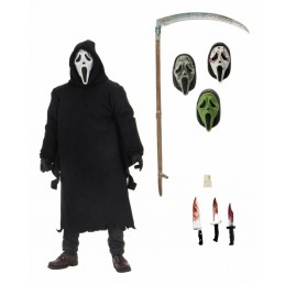 SCREAM ULTIMATE GHOSTFACE CLOTHED ACTION FIGURE NECA
