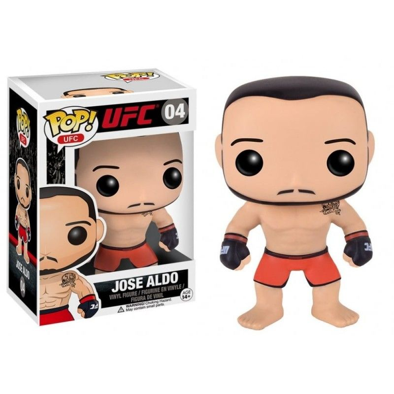 FUNKO POP! UFC - JOSE ALDO BOBBLE HEAD KNOCKER FIGURE