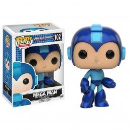 FUNKO POP! MEGAMAN - MEGA MAN BOBBLE HEAD KNOCKER FIGURE