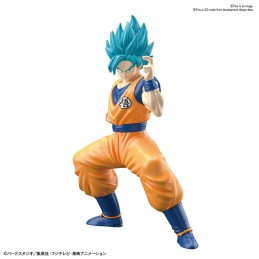 EG ENTRY GRADE DRAGON BALL SUPER SAIYAN GOD GOKU MODEL KIT FIGURE BANDAI