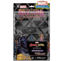 MARVEL HEROCLIX BLACK PANTHER AND THE ILLUMINATI FAST FORCES MINIATURES WIZKIDS