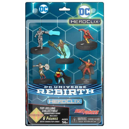 DC UNIVERSE REBIRTH HEROCLIX FAST FORCES MINIATURES