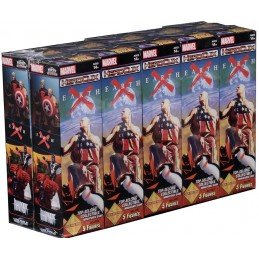 WIZKIDS MARVEL HEROCLIX EARTH X 10X BOOSTER BRICK