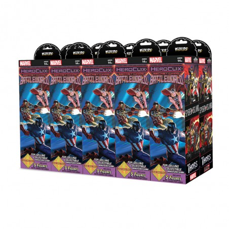MARVEL HEROCLIX SECRET WARS BATTLEWORLD 10X BOOSTER BRICK