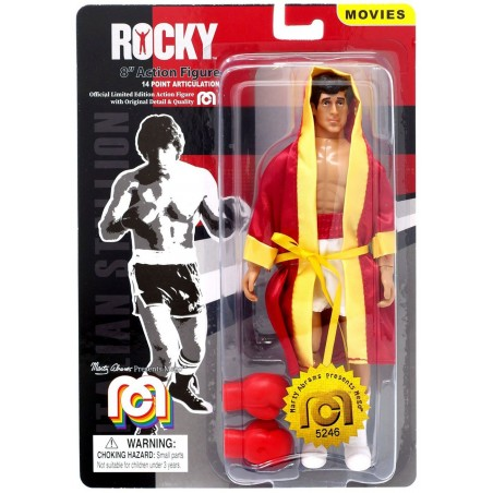 ROCKY BALBOA CLOTHED ACTION FIGURE