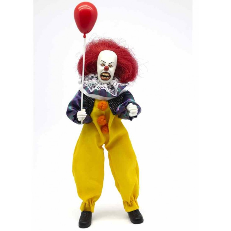 IT 1990 PENNYWISE CLOTHED ACTION FIGURE MEGO CORPORATION