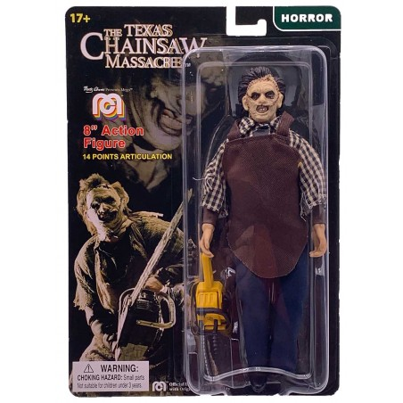 TEXAS CHAINSAW MASSACRE LEATHERFACE CLOTHED ACTION FIGURE