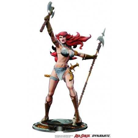 RED SONJA BY FRANK THORNE STATUE 45TH ANNIVERSARY FIGURE