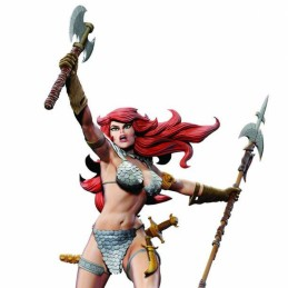DYNAMITE ENTERTAINMENT RED SONJA BY FRANK THORNE STATUE 45TH ANNIVERSARY FIGURE