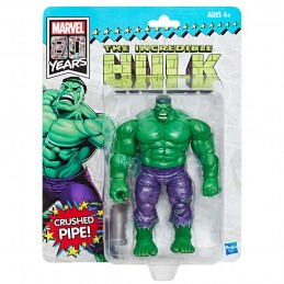 MARVEL LEGENDS RETRO THE INCREDIBLE HULK ACTION FIGURE HASBRO