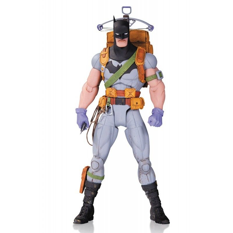 DC COMICS GREG CAPULLO - ZERO YEAR SURVIVAL BATMAN ACTION FIGURE DC COLLECTIBLES