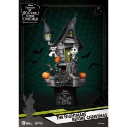 BEAST KINGDOM D-STAGE THE NIGHTMARE BEFORE CHRISTMAS STATUE FIGURE DIORAMA