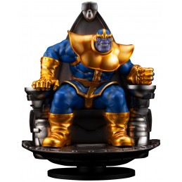 MARVEL THANOS ON SPACE THRONE FINE ART STATUE FIGURE KOTOBUKIYA