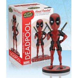 MARVEL DEADPOOL BOBBLE HEAD KNOCKER FIGURE NECA
