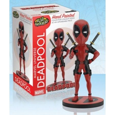 MARVEL DEADPOOL BOBBLE HEAD KNOCKER FIGURE