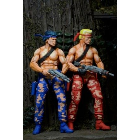 CONTRA BILL AND LANCE 2 PACK DELUXE ACTION FIGURE