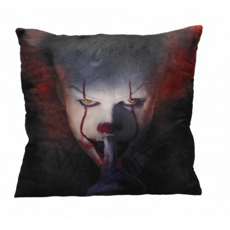 IT PENNYWISE 2017 SHUT UP CUSHION PILLOW CUSCINO
