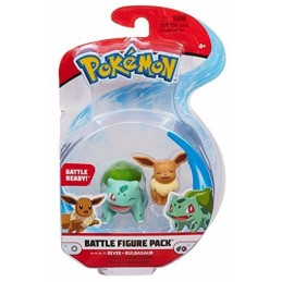 BOTI POKEMON BATTLE FIGURE PACK EEVEE AND BULBASAUR