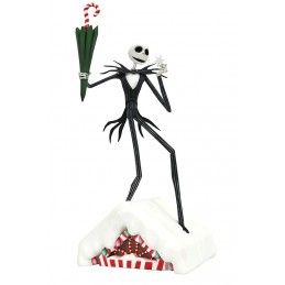 NIGHTMARE BEFORE CHRISTMAS GALLERY JACK SKELLINGTON FIGURE STATUE DIAMOND SELECT