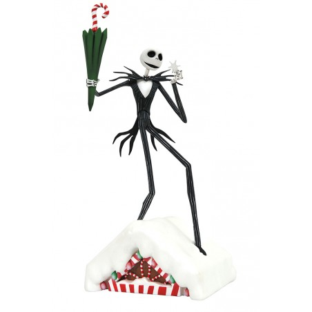 NIGHTMARE BEFORE CHRISTMAS GALLERY JACK SKELLINGTON FIGURE STATUE