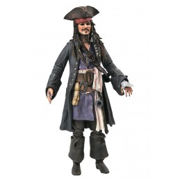 DIAMOND SELECT PIRATES OF THE CARIBBEAN JACK SPARROW ACTION FIGURE