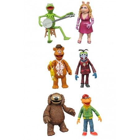 DIAMOND SELECT MUPPETS SERIE 1 SET ACTION FIGURE