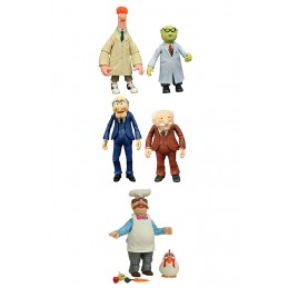 DIAMOND SELECT MUPPETS SERIE 2 SET ACTION FIGURE DIAMOND SELECT