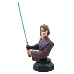 STAR WARS THE CLONE WARS ANAKIN SKYWALKER BUST STATUE DIAMOND SELECT