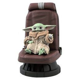 STAR WARS THE MANDALORIAN THE CHILD BABY YODA STATUE DIAMOND SELECT