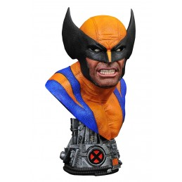 MARVEL LEGENDS IN 3D WOLVERINE BUSTO STATUA DIAMOND SELECT