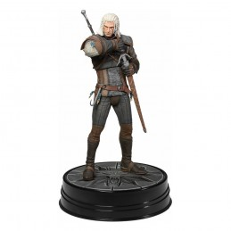 THE WITCHER 3 WILD HUNT - GERALT HEART OF STONE STATUE FIGURE DARK HORSE